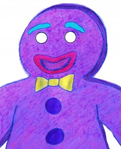 Gingy in blue